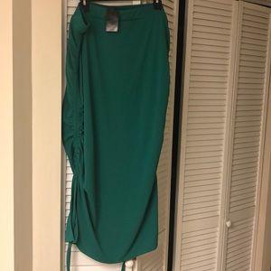 Eloquent midi skirt